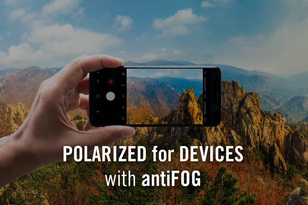 Trail - Polarized for Devices antiFOG Before